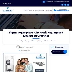 Aquaguard Dealers In Chennai