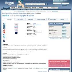 Aquaphor de Eucerin sur Beauté-test.com