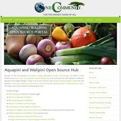 Aquapini and Walipini Open Source Hub