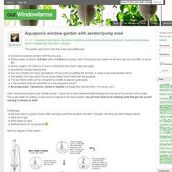 Aquaponics nikema pearltrees for Aquaponics aeration