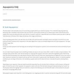 Aquaponics Advice Page 30