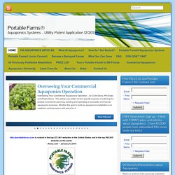 Portable Farms™ Aquaponics Systems