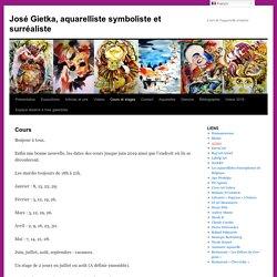 José Gietka, aquarelliste symboliste et surréaliste