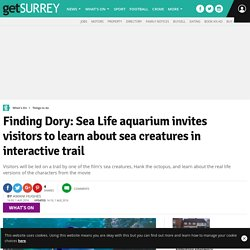 Finding Dory: Sea Life aquarium invites visitors to learn about sea creatures in interactive trail