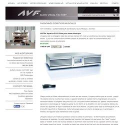 Isotek Aquarius EVO3 Filtre pour réseau électrique, Audio Visual Factory