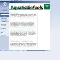 Aquaticbiofuels: Déchets de poisson