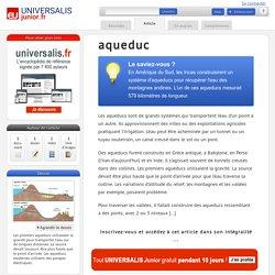 aqueduc : Universalis Junior