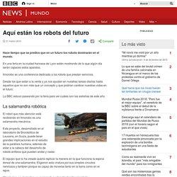 Aquí están los robots del futuro - BBC News Mundo