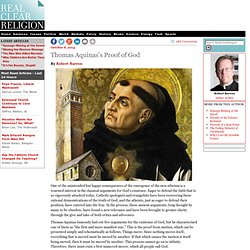 Thomas Aquinas's Proof of God