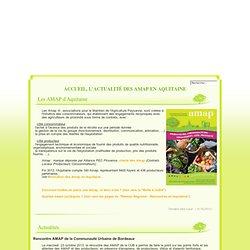 AMAP Aquitaine - Accueil, l'actualité des AMAP en Aquitaine