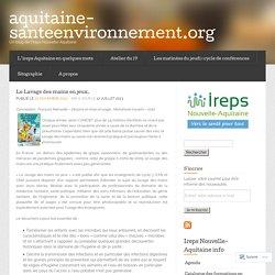 Le Lavage des mains en jeux. « aquitaine-santeenvironnement.org
