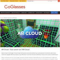 AR Cloud : Tout savoir sur l'AR Cloud