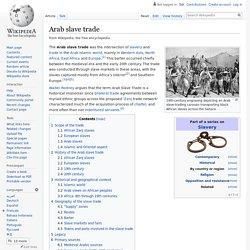 Arab slave trade - Wikipedia