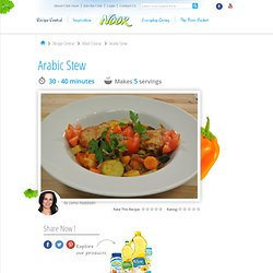 Arabic Stew Easy Recipe