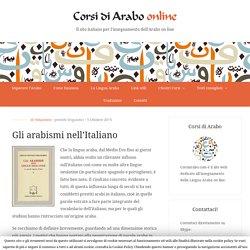 Gli arabismi nell'Italiano - Corsi di Arabo