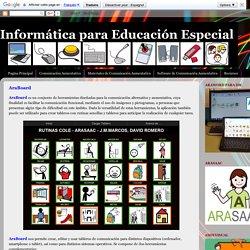 Informática para Educación Especial: AraBoard