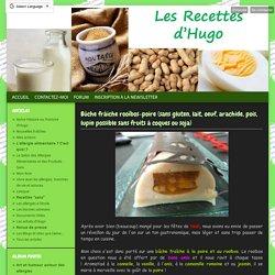 Bûche frâiche rooïbos-poire (sans gluten, lait, oeuf, arachide, pois, lupin possible sans fruits à coques ou soja) - Les recettes d'Hugo