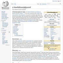 2-Arachidonoylglycerol