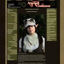 Aradani Costumes - Steampunk Fantasy Costume