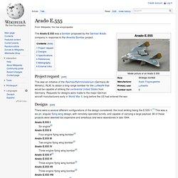 Arado E.555