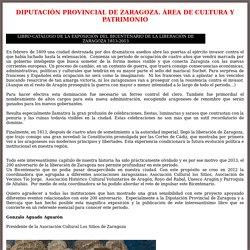 ARAGON y la ocupacion francesa 1809-1814