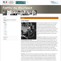 Louis Aragon-Poètes en résistance-Réseau Canopé