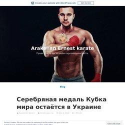 Серебряная медаль Кубка мира остаётся в Украине – Arakelian Ernest karate