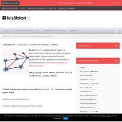 Arányosság - gyakorló feladatok matematikából - Felsofokon.hu a Szakmai Magazin