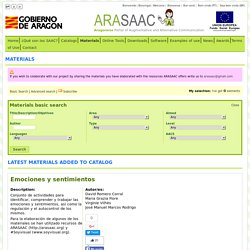 ARASAAC: Materials