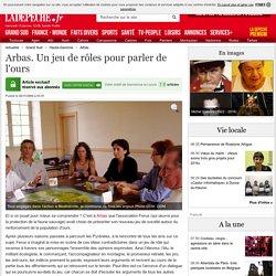 Arbas. Un jeu de rôles pour parler de l'ours - 06/11/2009 - ladepeche.fr