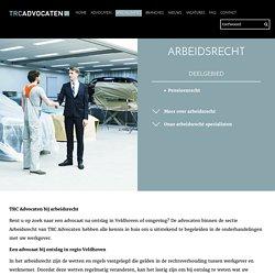 Arbeidsrecht - TRC Advocaten