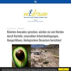 Könnten Avocados sprechen, würden sie von Morden durch Kartelle, miserablen Arbeitsbedingungen, Hungerlöhnen, ökologischem Desastern berichten!