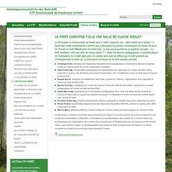Arbeitsgemeinschaft für den Wald / Communauté de travail pour la forêt