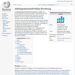 Arbeitsgemeinschaft Online Forschung
