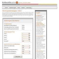 Hartz 4 Rechner IV Berechnung Arbeitslosengeld 2 II Voraussetzungen
