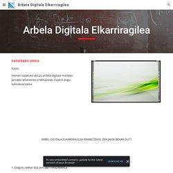 Arbela Digitala Elkarriragilea