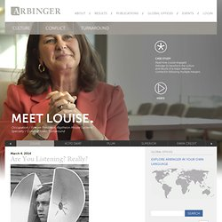 Welcome - Arbinger Institute