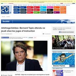 Arbitrage/Adidas: Bernard Tapie attendu ce jeudi chez les juges d'instruction