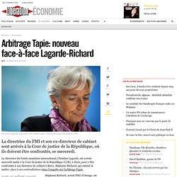 Arbitrage Tapie: nouveau face-à-face Lagarde-Richard