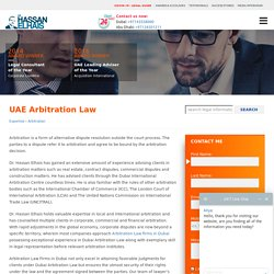 Consult With The Best Arbitration Attorneys in UAE!