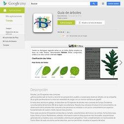 Guía de árboles