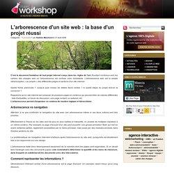 L'arborescence d'un site web la base d'un projet réussi