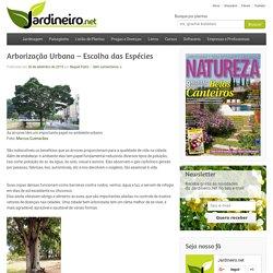 Arborização Urbana - Escolha das Espécies - Jardineiro.net