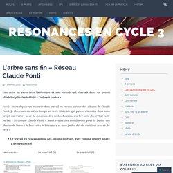 L'arbre sans fin – Réseau Claude Ponti – Résonances en cycle 3