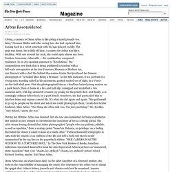 Arbus Reconsidered