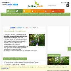 Taille des arbustes : technique, periode