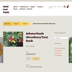 Arbutus Unedo seeds