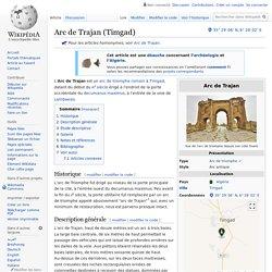 Arc de Trajan (Timgad)