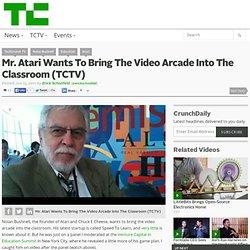 Atari video arcad classroom