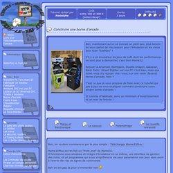 borne d'arcade construire une borne de jeux d'arcade maison avec l'émulateur mame 32